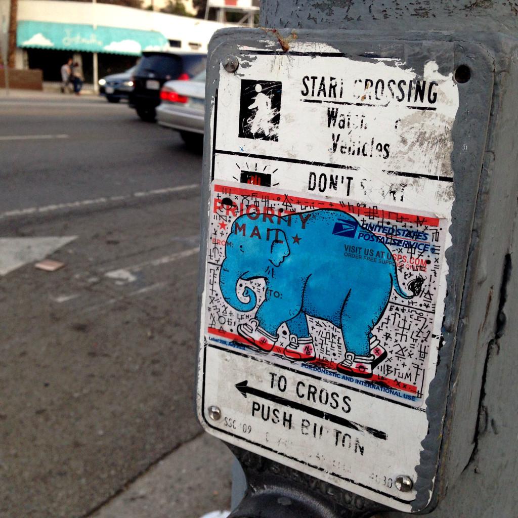 streetartlosangeleselephantcrossing