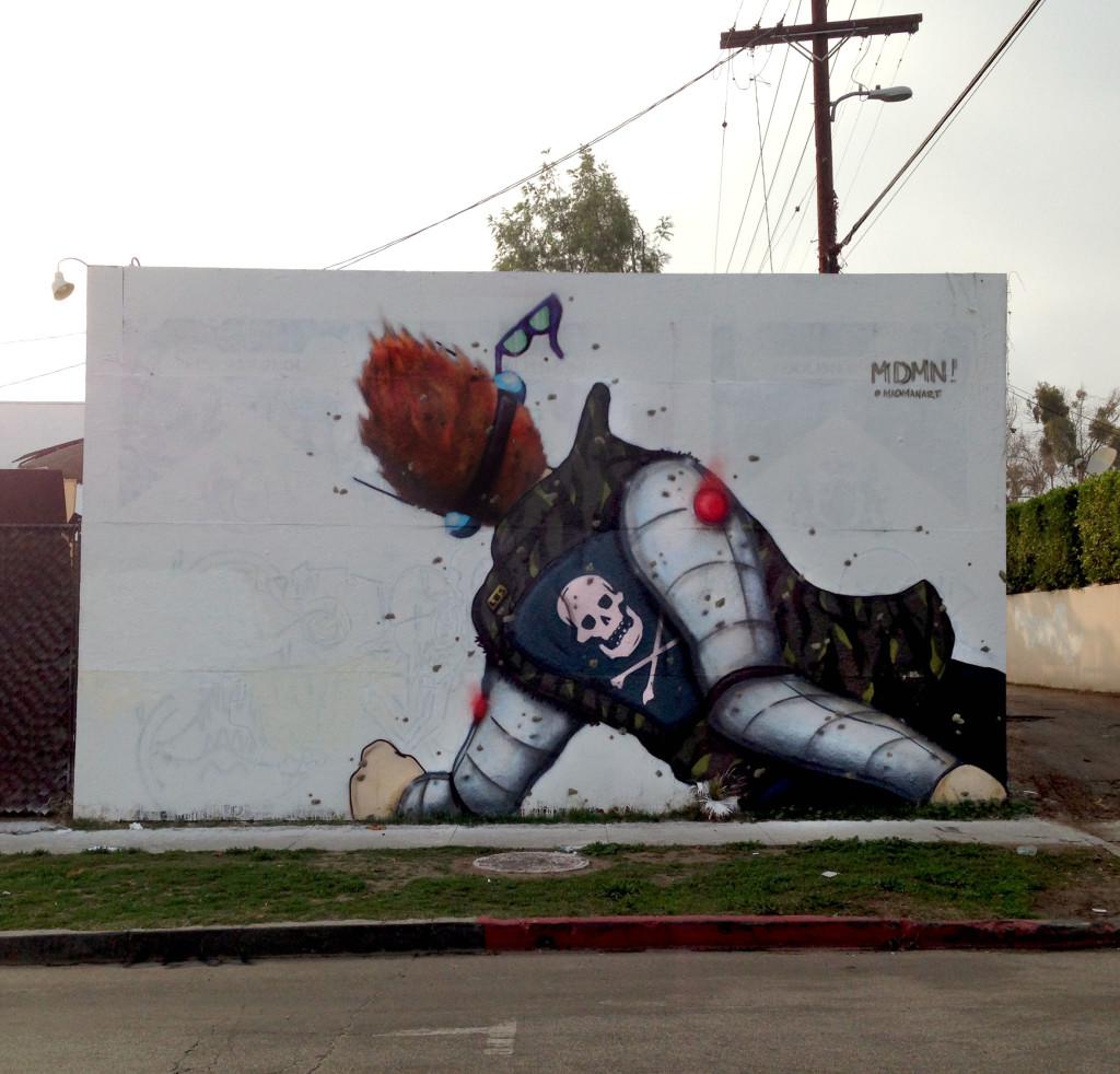 streetartlosangelesmadmanart