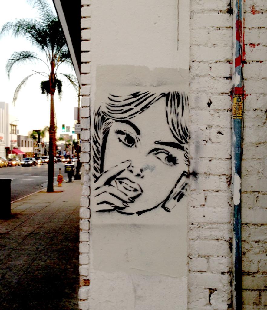 streetartlosangeleshollywoodgirl