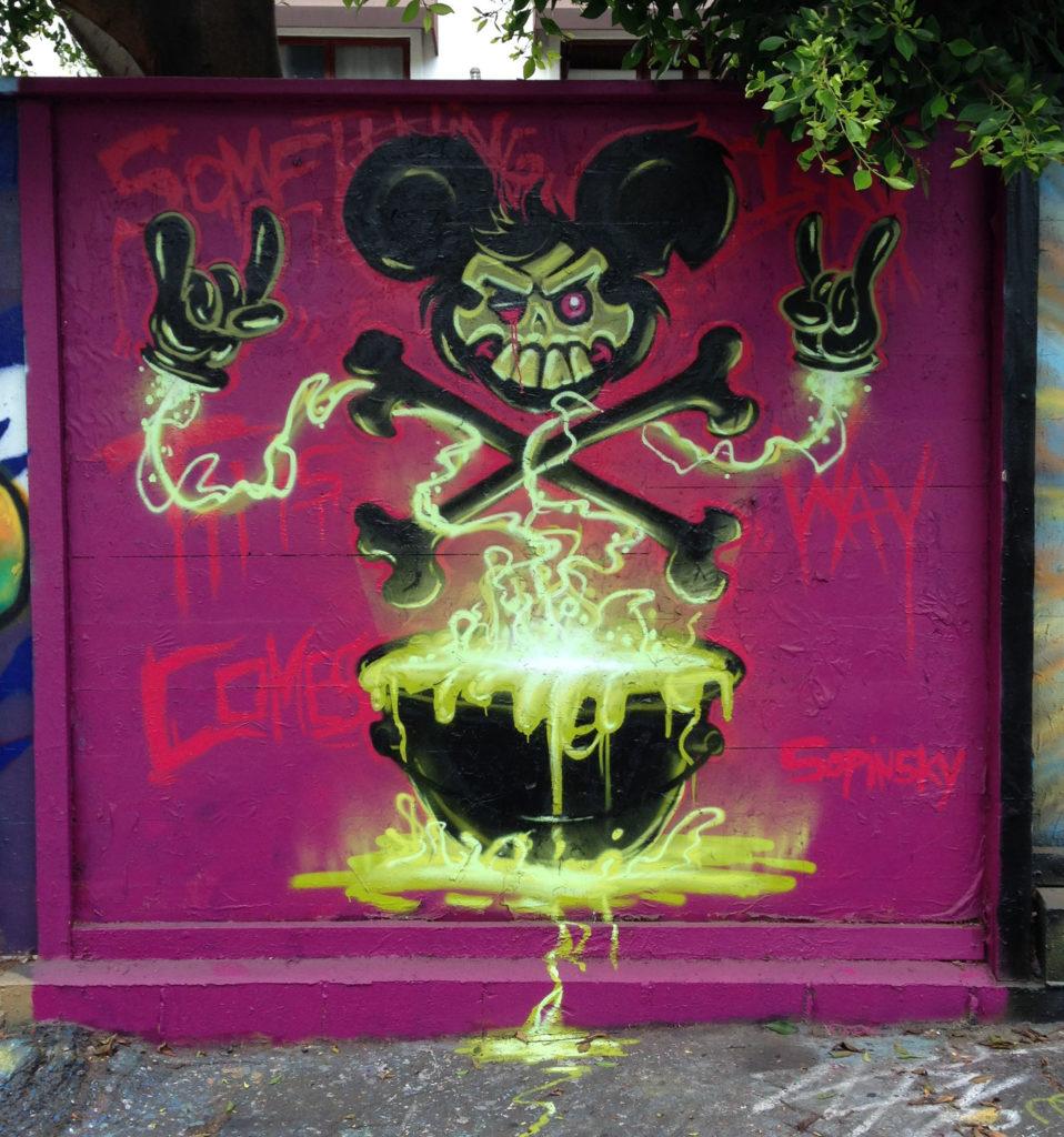 street art los angeles fameyard melrose sopinsky @bsopinsky