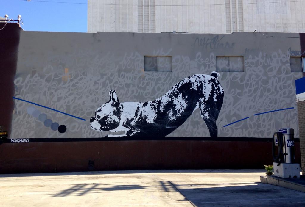 streetartlosangelesmoncho1929dogday